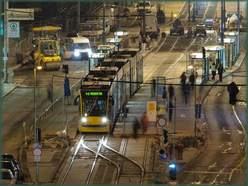 Szakadáskapcsoló: Margit híd, ideiglenes végállomás