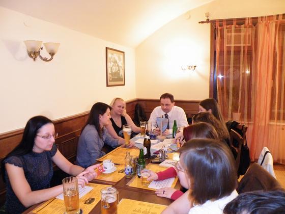 VDH Budapest: Stammtisch