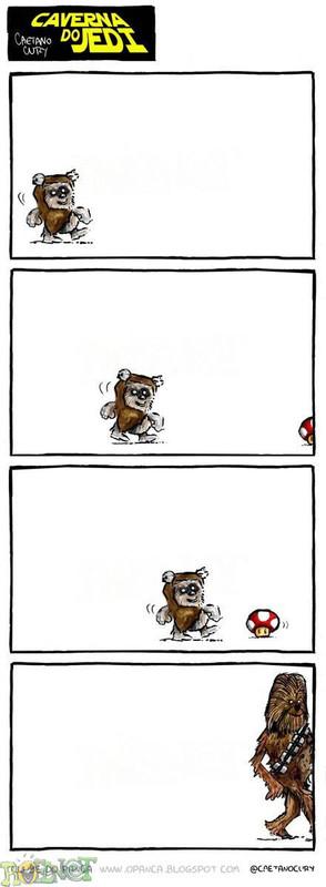 Blackhawk: mario chewbacca