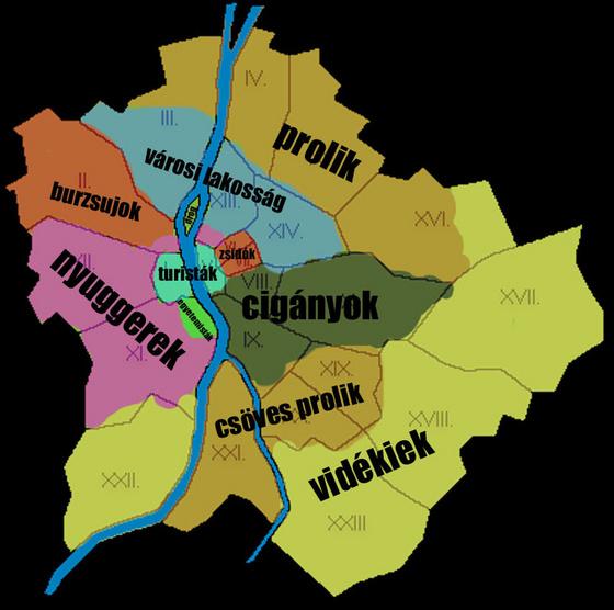 budapest térkép zugló Mentális térképek. Vagy ha ez nem lenne elég kattintékony cím  budapest térkép zugló