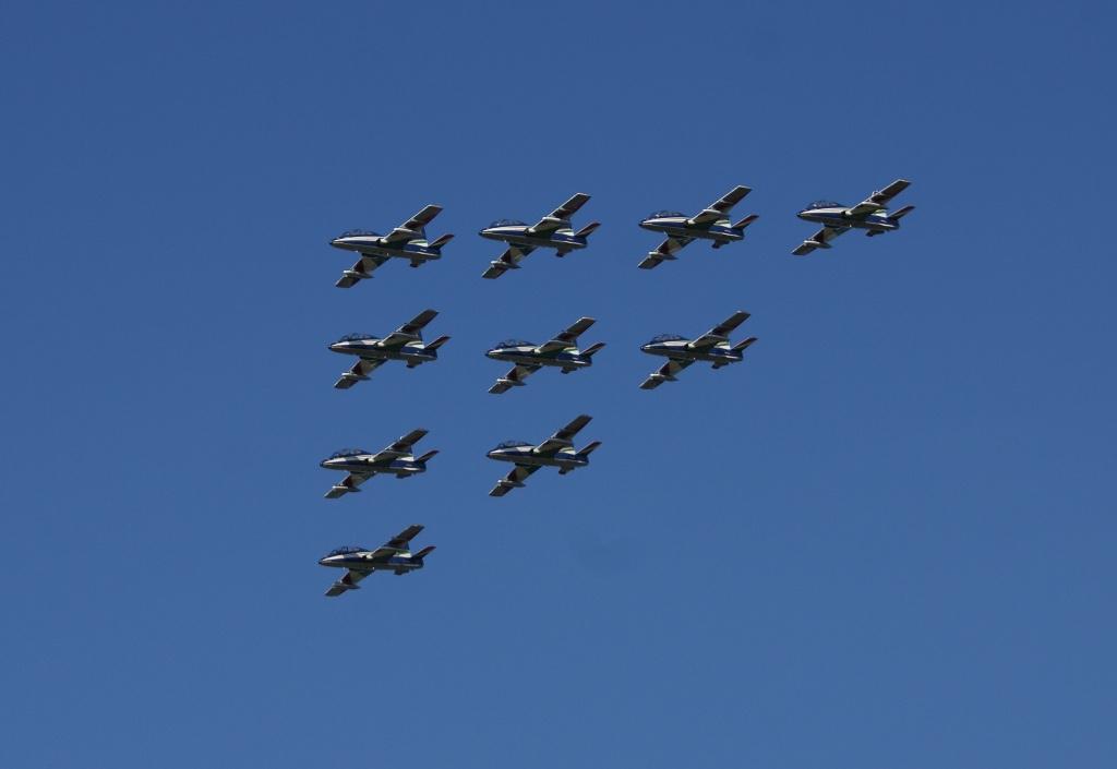 tourista: Repülőnap 2010 - Olasz remekmű - Frecce Tricolori