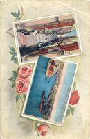 Piedone: Málta korabeli képeslapon