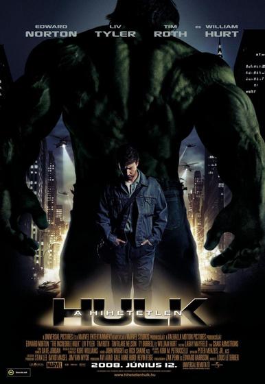 A hihetetlen Hulk magyar plakát
