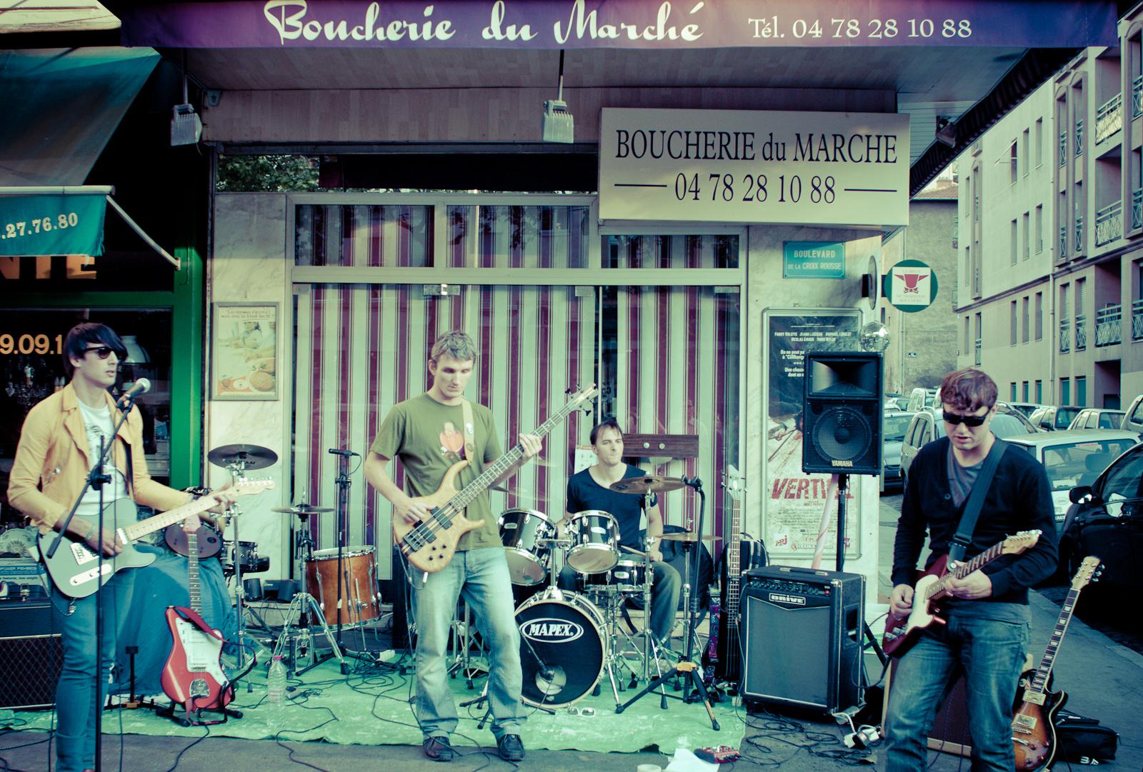 Postrock egy hentes előtt