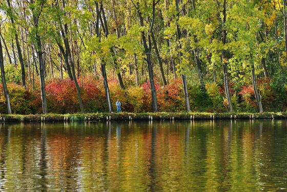 fenyob: Horgász az őszben