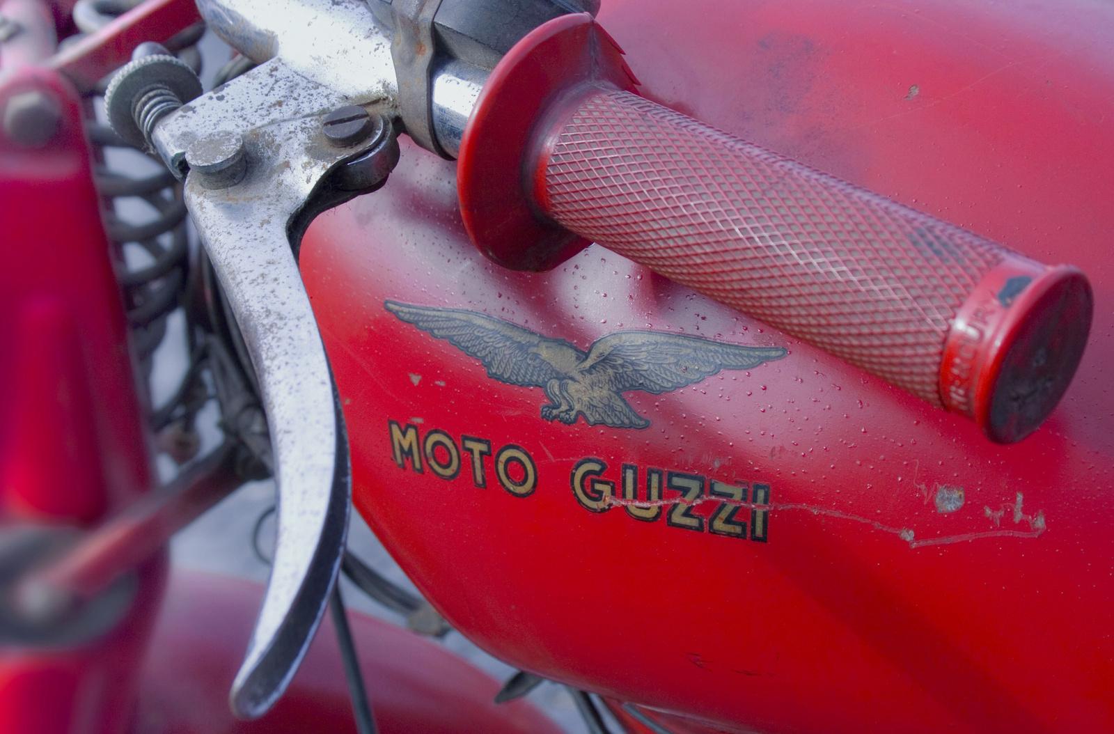 Moto Guzzi 1955 kormany