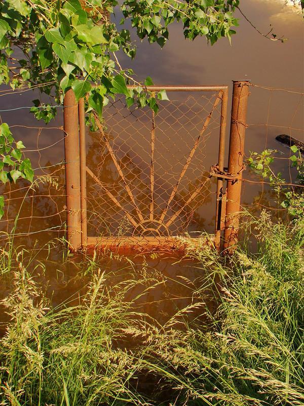 Bejárat, az árvízhez