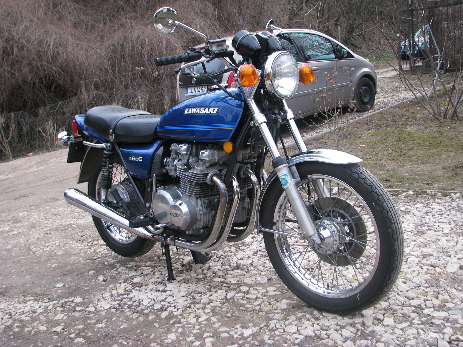 Kawasaki z650 6