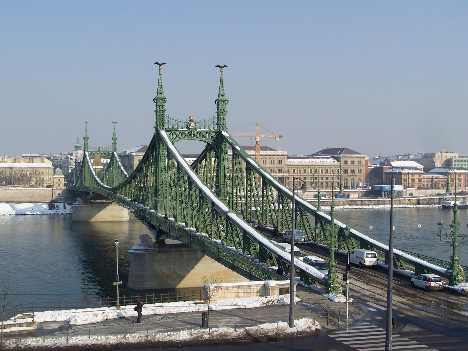 havas Szabadság híd