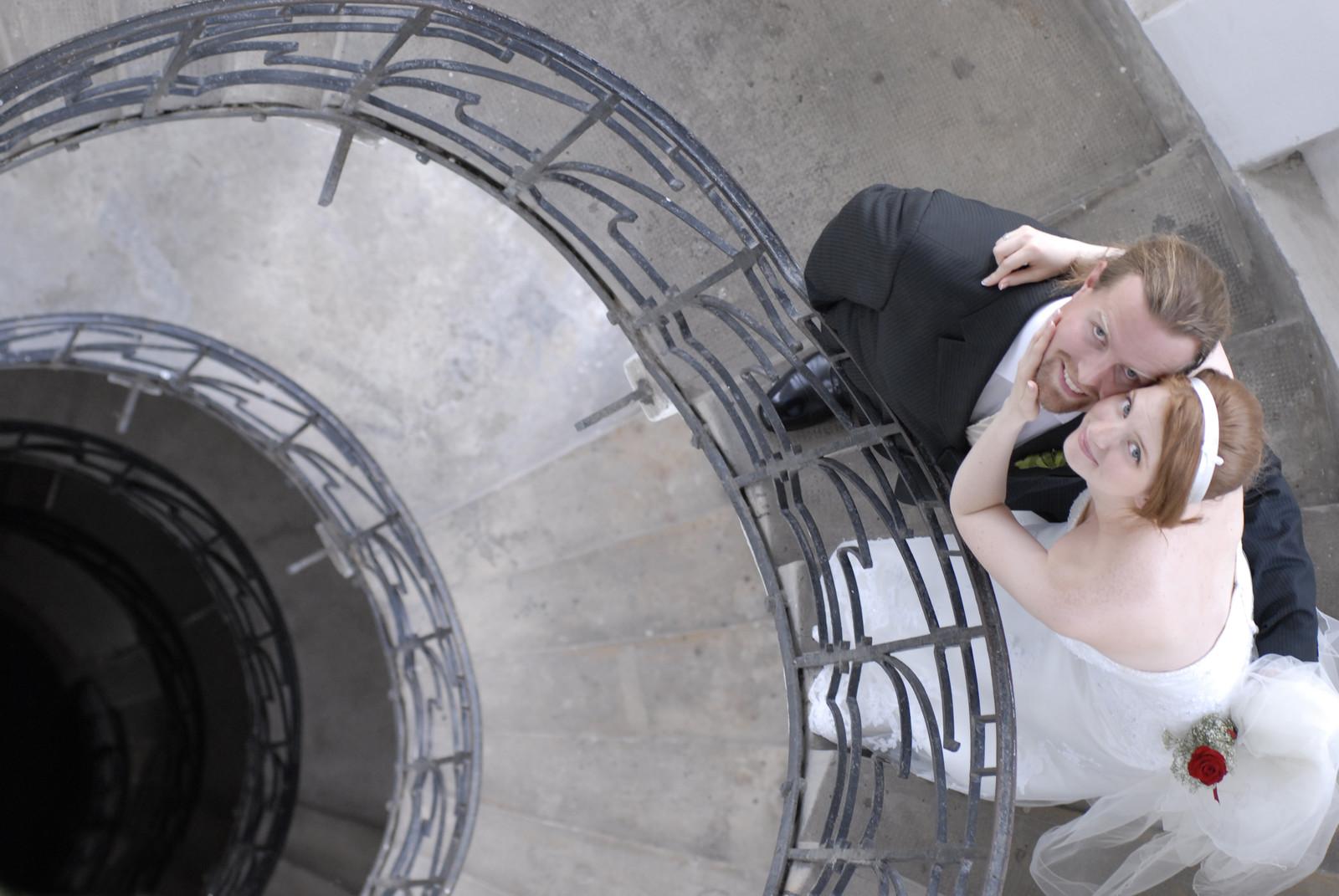Esküvő a víztoronyban